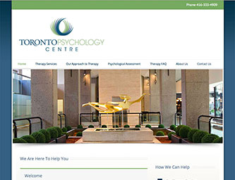 Welcome to Toronto Psychology Centre