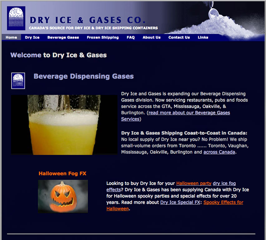 Dry Ice and Gases